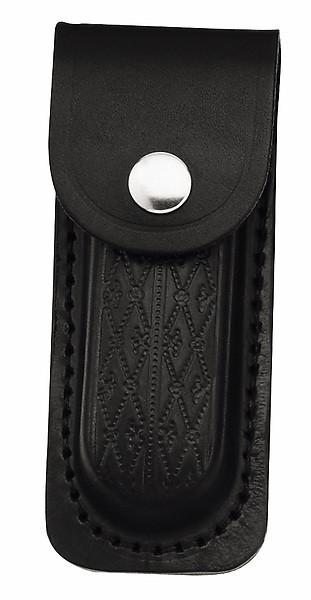 Herbertz Lederetui, schwarz, für Heftlänge 11 cm, längs und quer
