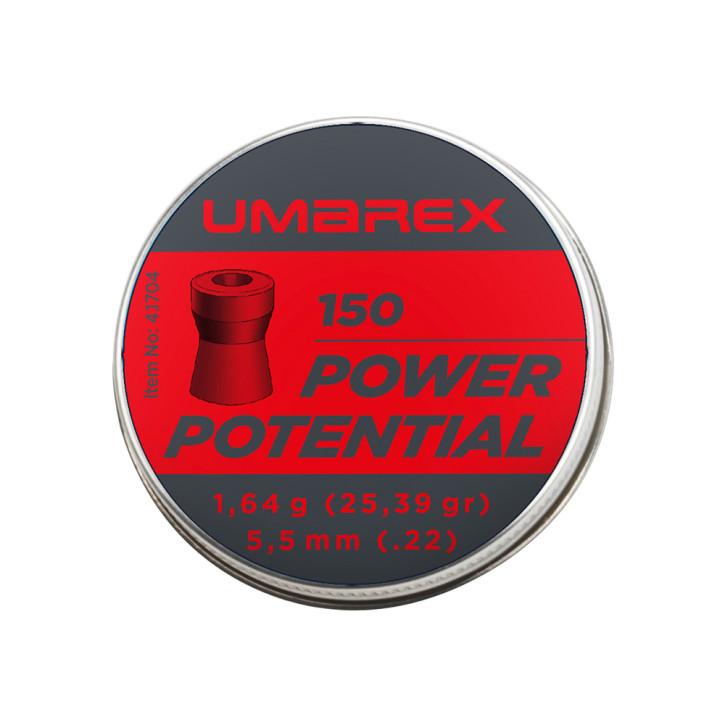 Umarex Power Potential 5.5mm (.22) Diabolo, 350 St., Dose