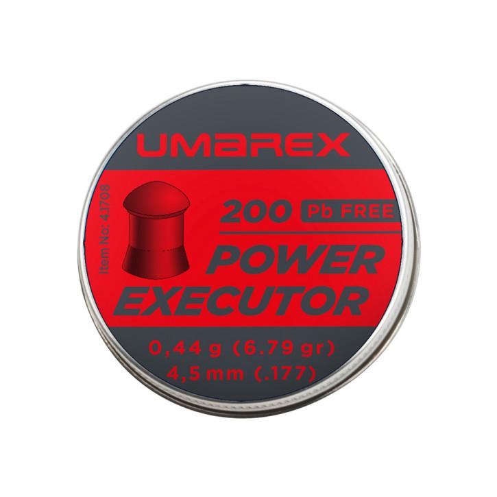 Umarex Power Executor 4,5mm (.177) Diabolo, 200 St., Dose