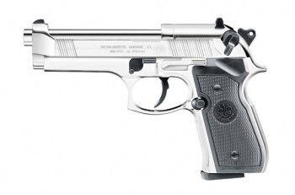 Beretta M92 FS cal. 4,5 mm (.177) Diabolo - Polished Chrome