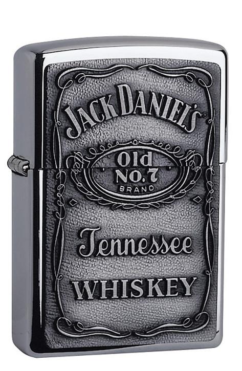Zippo-Benzinfeuerzeug, Motiv Jack Daniels.