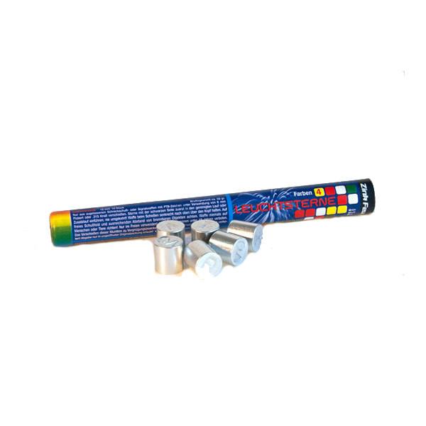 Zink Leuchtsignalsterne Kaliber 15 mm weiß, rot, grün, gelb