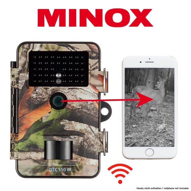 MINOX DTC 550 WiFi Camo Wildkamera