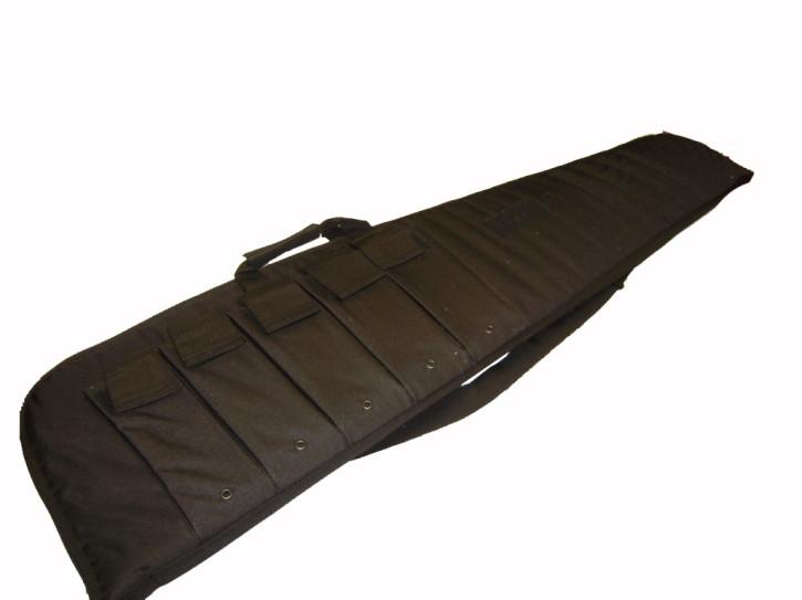 Rifle Case mit Tragegurt schwarz 120cm