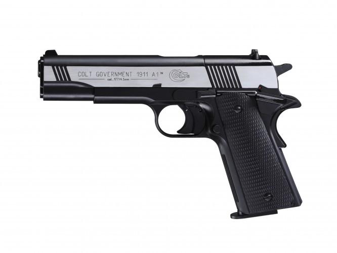 Colt Government M 1911 Dark OPS cal. 4,5 mm (.177) Diabolo