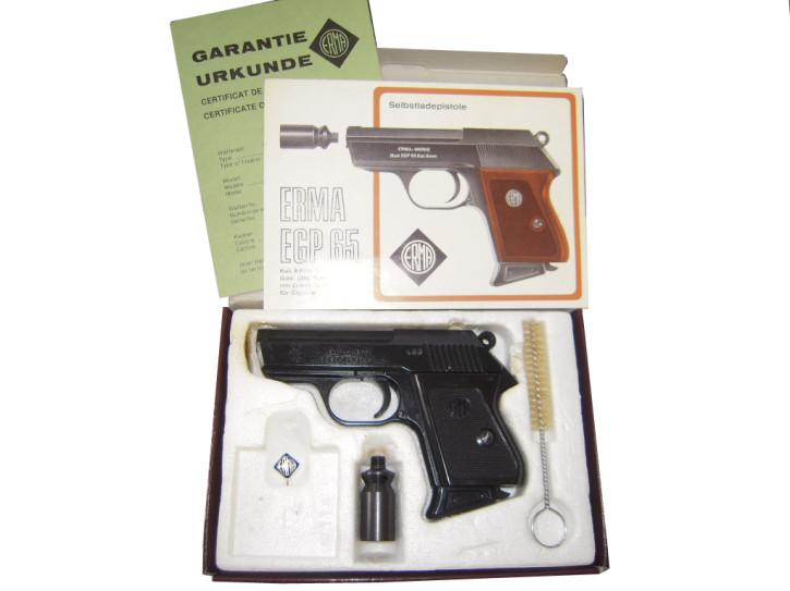 Sammlerpistole Erma EGP 65, 8mm Signalwaffe