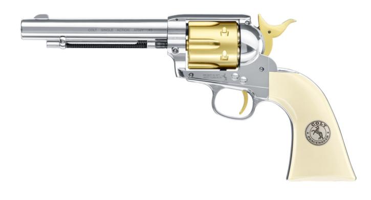 "Colt Single Action Army .45-5.5"" Gold Edition 4,5 mm Diabolo"