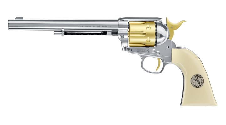 "Colt Single Action Army .45-7.5"" Gold Edition 4,5mm Diabolo"