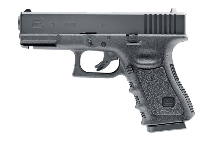Glock 19 Luftpistole mit Metallschlitten