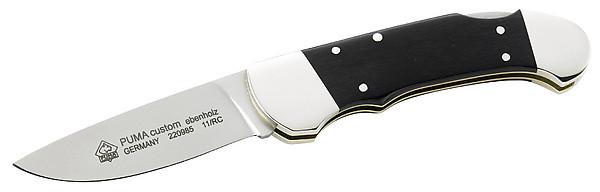Puma Taschenmesser, Stahl 1.4110, Neusilberbacken
