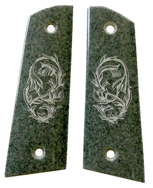 Designer-Griffschalen Ornament für Colt Government 1911