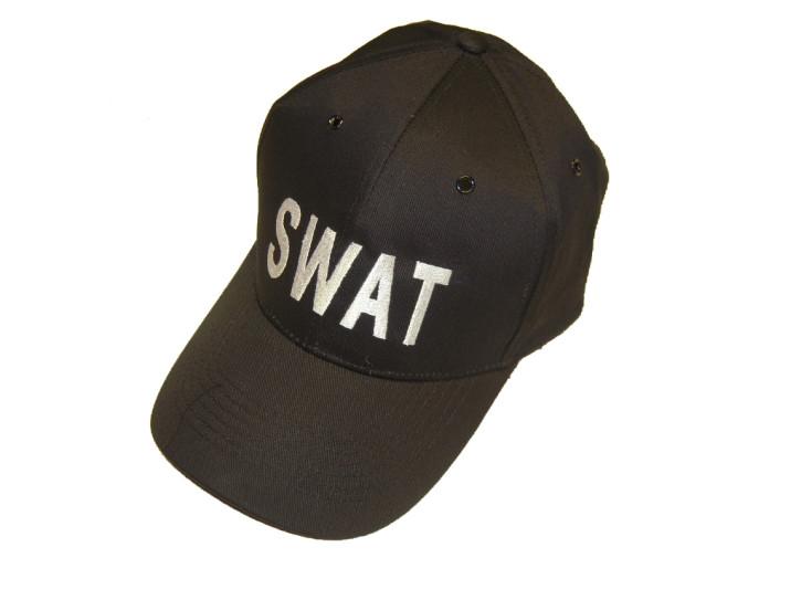 BASEBALL CAP SCHW. \'SWAT\'