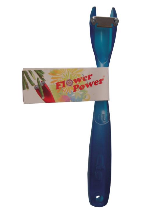 Flux Flower Power Blütenstengelschneider, blau