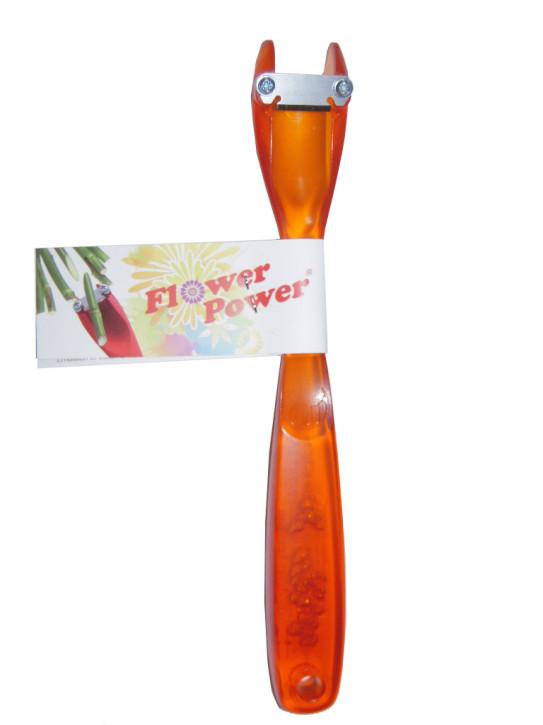 Flux Flower Power Blütenstengelschneider, orange