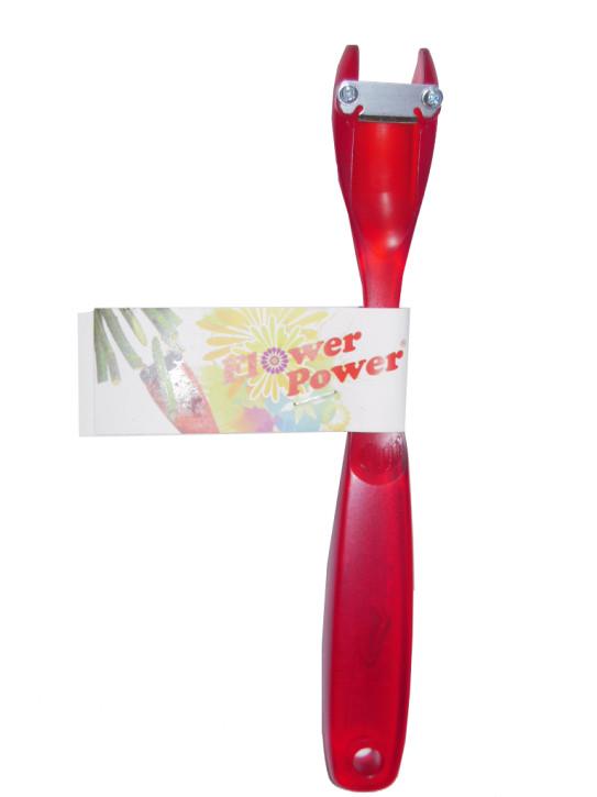 Flux Flower Power Blütenstengelschneider, rot