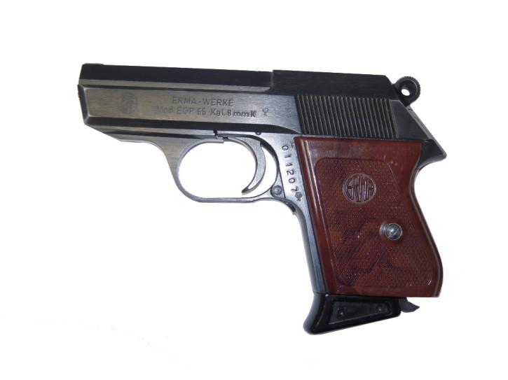 Sammlerwaffe Erma EGP 65, 8mm Knall