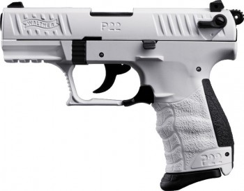 Walther P22Q, White Edition, Gas-Signalwaffe