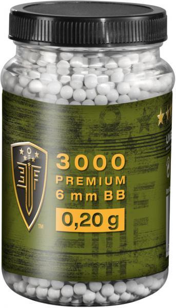 Elite Force BB´s Premium Selection 0,20 g - 3000 Stück, wei