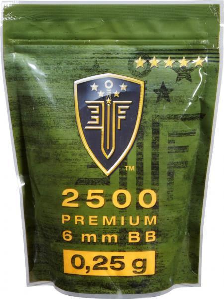 Elite Force Premium Selection BB 0,25 g - 2500 Stück, weiß