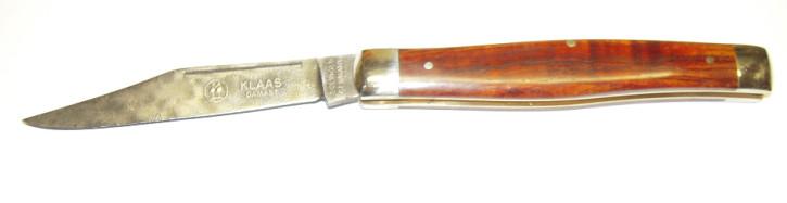 Taschenmesser Damast mit Cocobolo Klaas