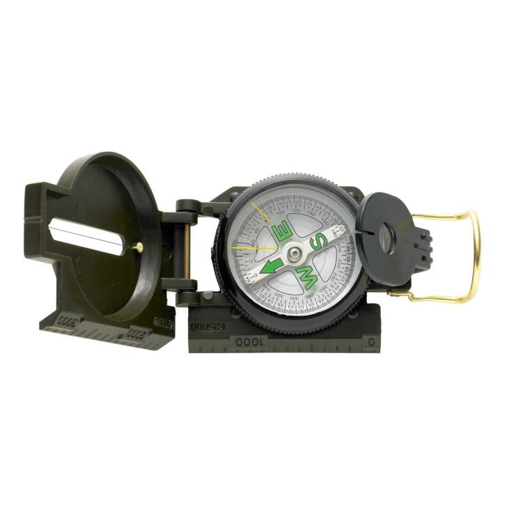 Kompass, Kunststoffgehäuse, dunkelgrün