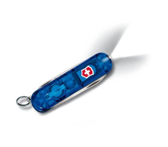 Swiss Lite blau transparent