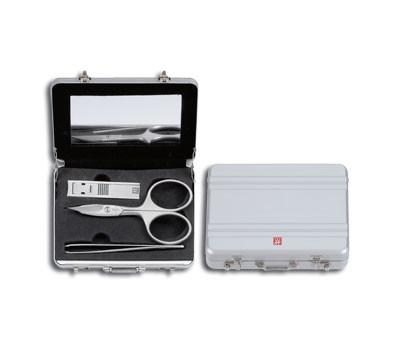 ZWILLING Manicure Koffer, Aluminium, 3-tlg. TWINOX