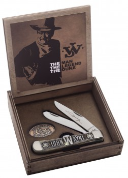 Case SS John Wayne - Bone Trapper - Giftset Box