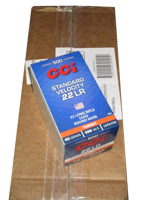 CCi .22 lfB. Standard Velocity 40 grs. 5000er Pack