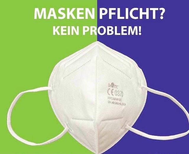 Atemschutzmaske 20 Stück