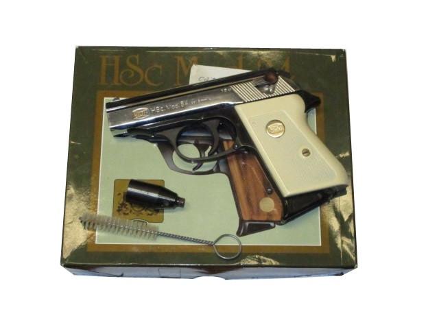 Mauser HSc. Mod.84 brüniert/verchromt 8mm Knall