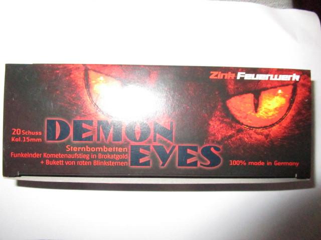 Demon Eyes Zink