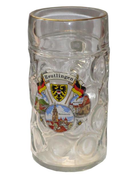 """Maßkrug Isar """"Reutlingen"""" 1L"""