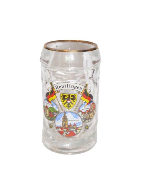 """Isarseidelchen """"Reutlingen"""" mit Goldrand"""