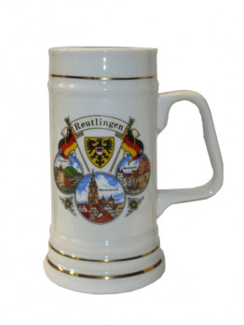 "Porzellankrug ""Reutlingen"""