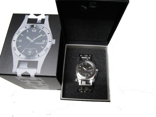 Leatherman TREAD TEMPO Armband Tool mit Uhr