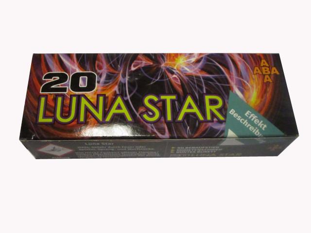 ABA Pyro Luna Star 20  - Feuerwerksgeschosse