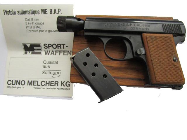 ME B.A.P. Pistole 8 mm