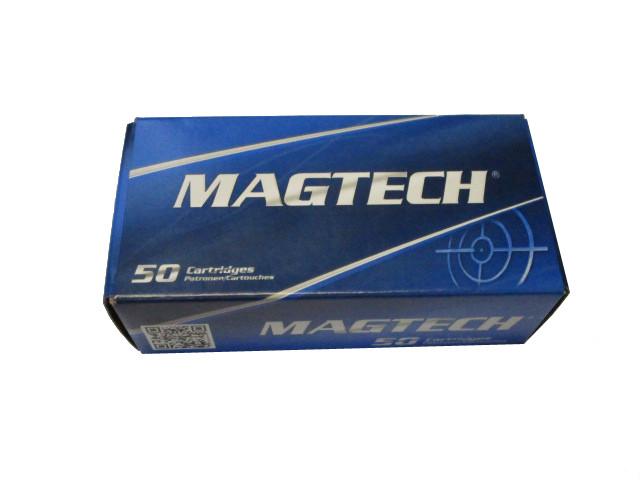 Pistolenpatronen Magtech Kaliber 9mm Luger FMJ 8,03 g / 124 gr