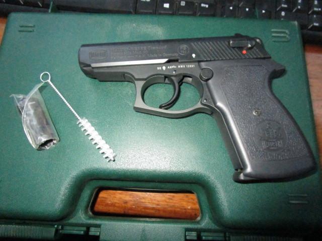 Signalpistole Kaliber 9 PAK Mauser HSC Modell 90 brueniert