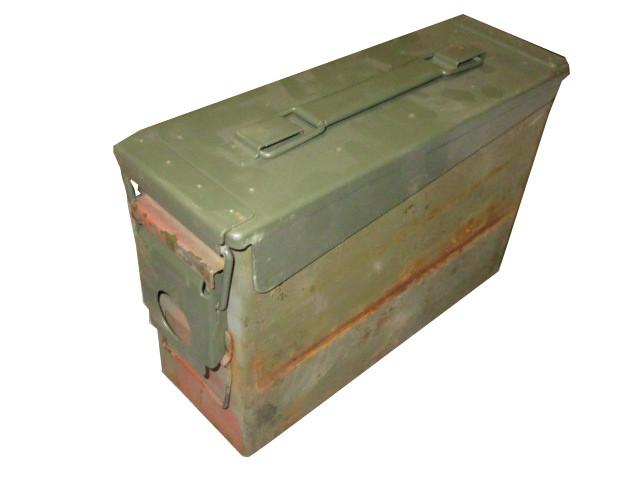 US Munitionskiste Metall CAL.30/7.62 gebraucht