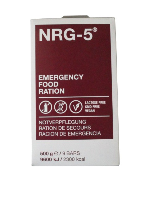 NRG-5 Notverpflegung