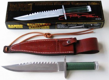 United Cutlery Rambo 1 Sylvester Stallone Signature