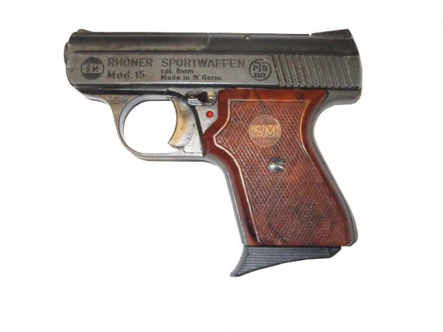 Röhner SM15 8mm Sammlerwaffe