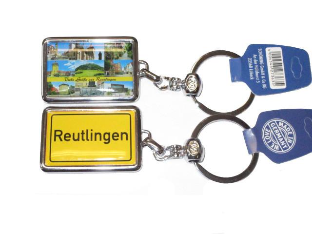 Schlüsselanhänger Reutlingen Ortsschild