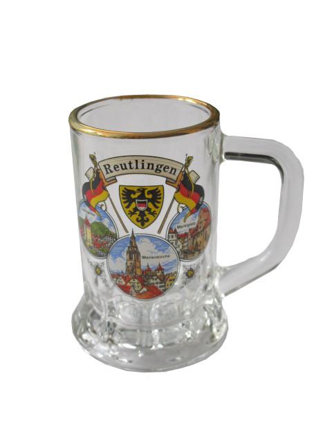 """Seidel Hans mit Goldrand """"Reutlingen"""""""