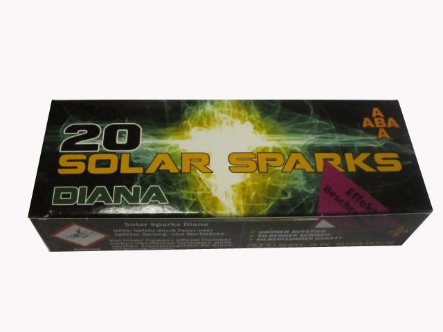 ABA Solar Sparks Luna 20 Effekt - Feuerwerksgeschosse