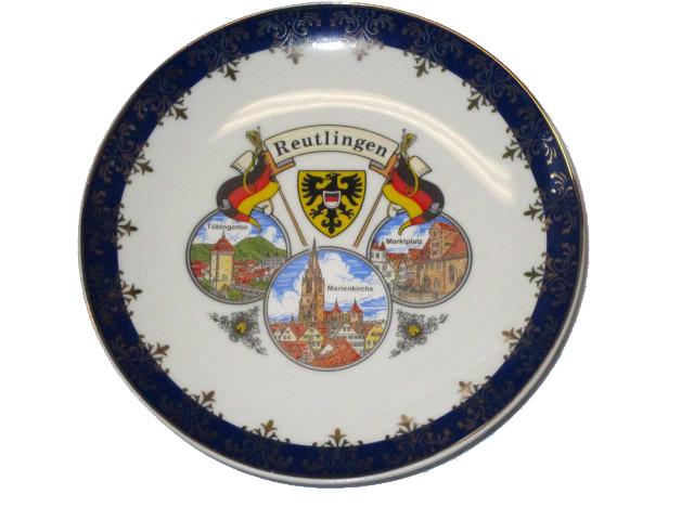 """Teller Kobalt """"Reutlingen"""" 15cm"""