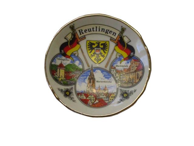 Magnet Reutlingen Keramik-Tellerchen 6,2cm
