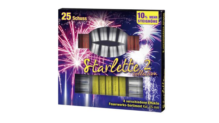 Umarex Starlette Collection 2 cal. 15 mm, 4 verschiedene Effekte